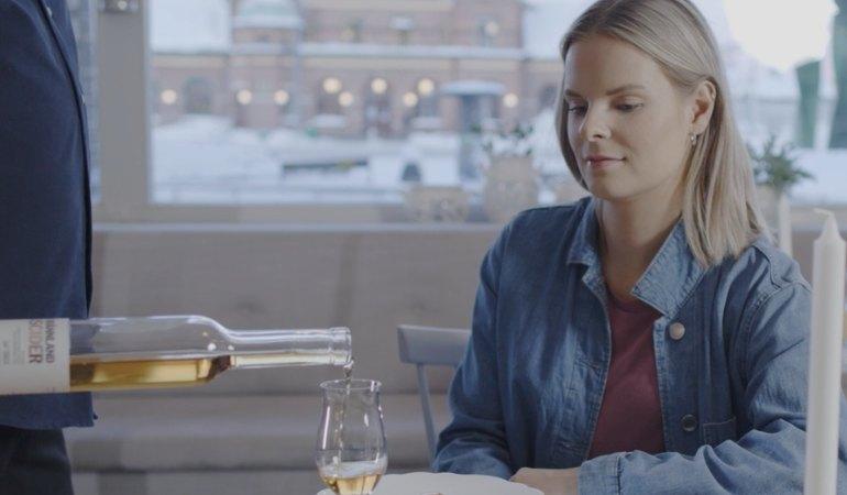 Hur dricker man Brännland Cider?