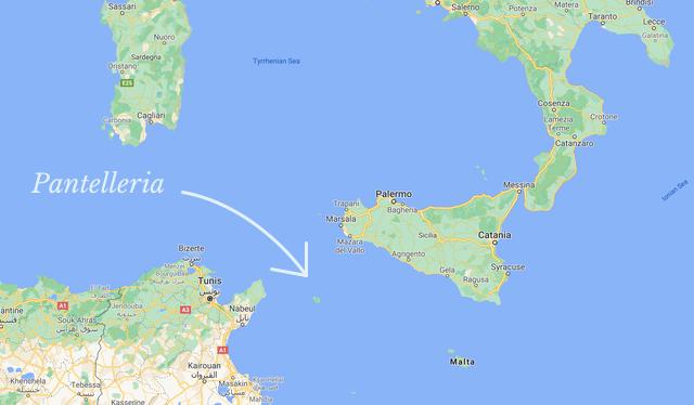 En Passito från Pantelleria
