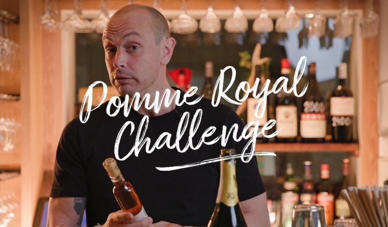 Petter gör en Pomme Royal